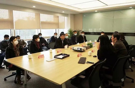 上海市副市长陈群一行莅临上海沪工集团视察调研