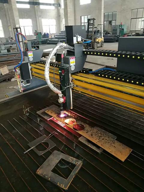 沪工工业款数控等离子切割机在灯具生产制造中的应用